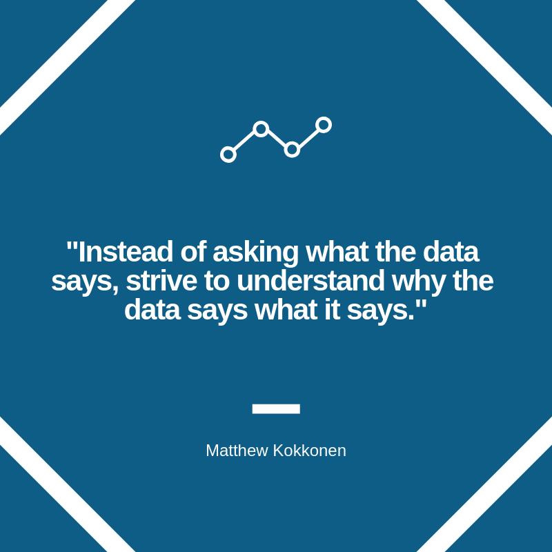 Data Analytics Post Quote Graphic