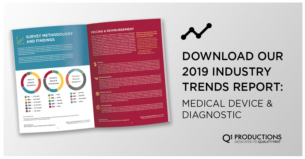 2019 Device and Diagnostic Industry Trend Whitepaper
