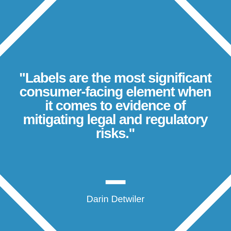 Food Label Trust Quote Banner Image