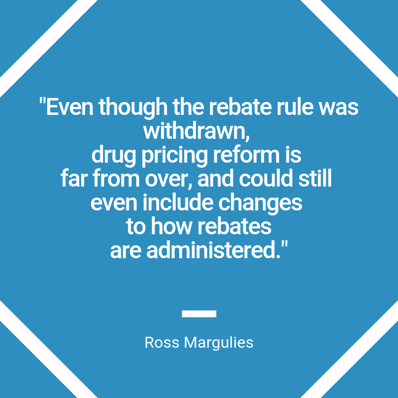 Ross Margulies quote from drug pricing post