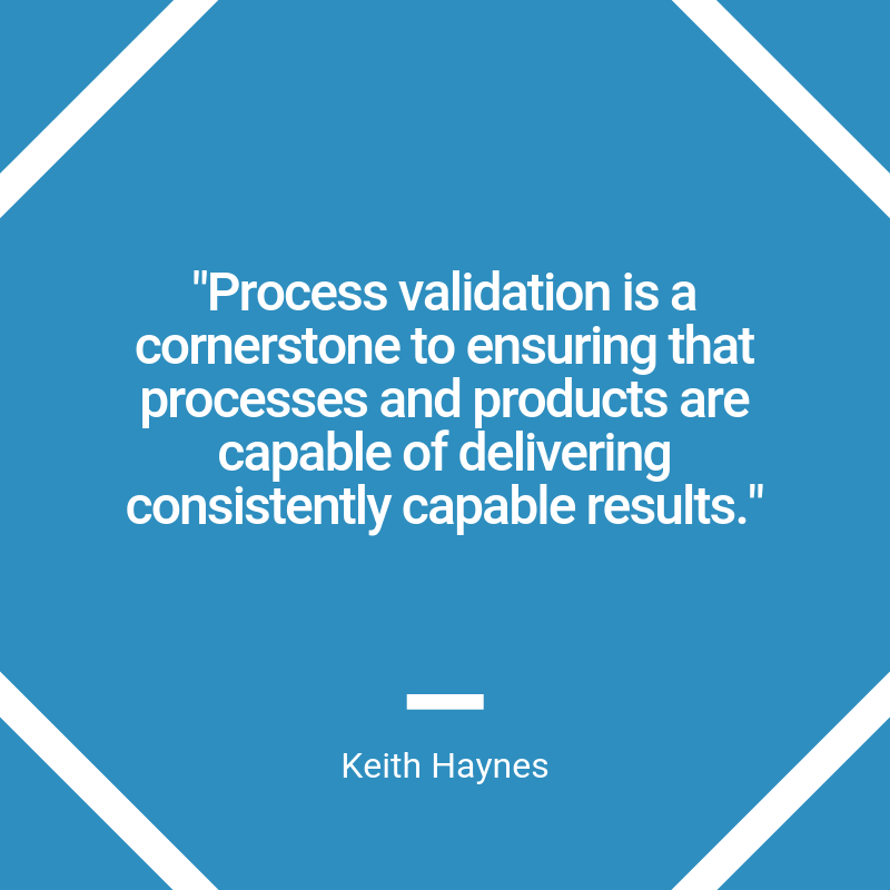 process validation post quote graphic
